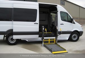 Conversion Van Side Door Lift