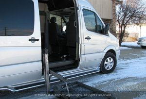 Luxury Sprinter Van Wheel Chair Lift