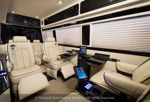 Maybach Business Sprinter Van Seating