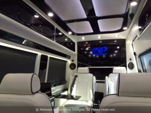 Mobile Office Vehicle Interior