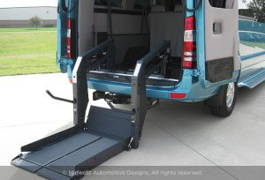 Sprinter Van with Rear Lift